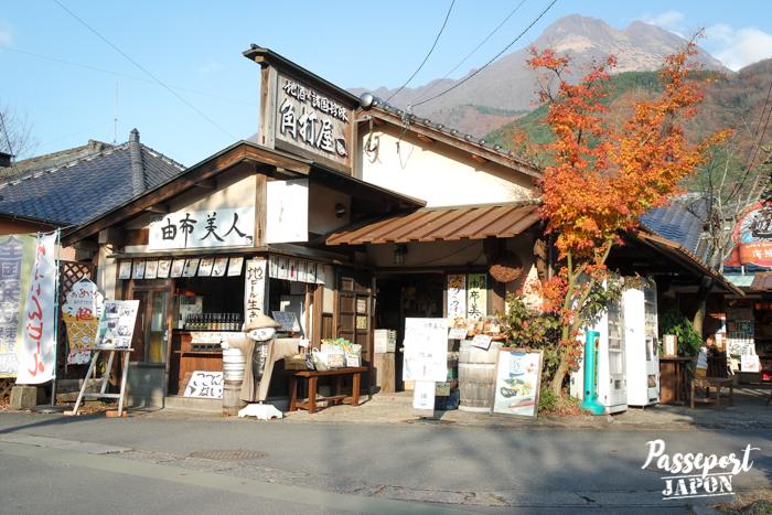 Magasin de saké, Yufuin, Oita