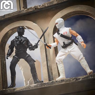 G.I. Joe x Mego Ninja Rivals Snake Eyes & Storm Shadow Action Figure 2 Pack by Hasbro