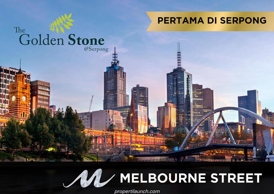 Ruko Melbourne Street @ Golden Stone Serpong