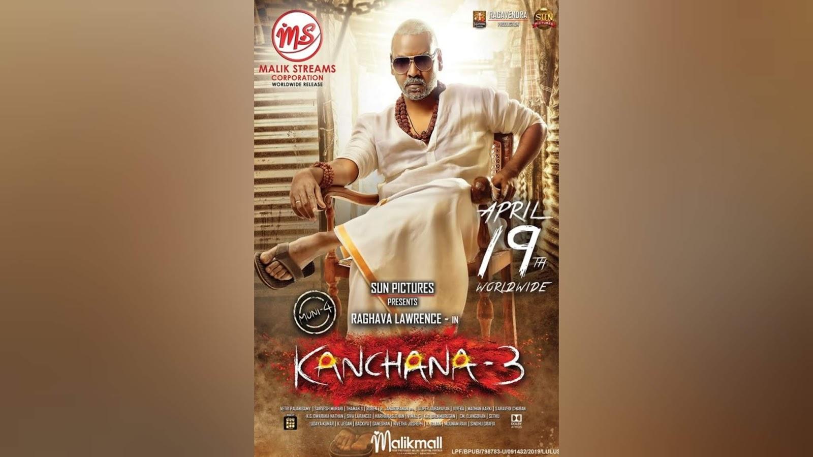 movie 2019 malay Kanchana 3 2019 Malay Sub