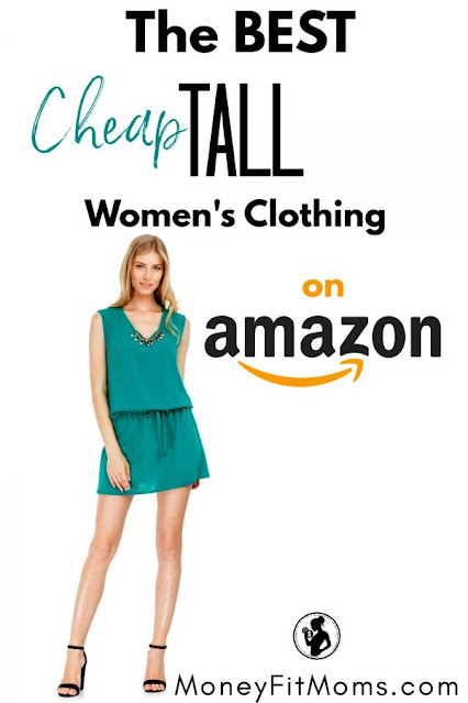 How to find the best (cheap!) TALL women's clothing from Amazon