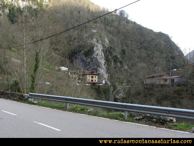 Ruta Puente Vidosa, Jucantu: Puente Vidosa