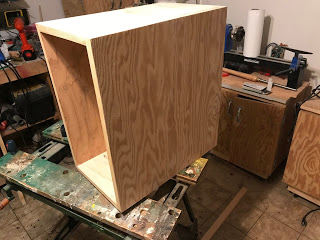 Next up - the cabinet for the drawers