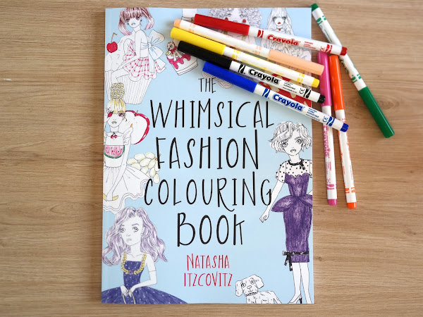 The Whimsical Fashion Colouring Book - Natasha Itzcovitz