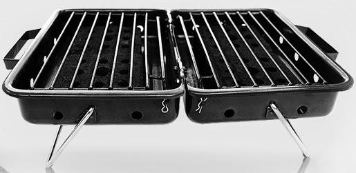 Eco-friendly portable BBQ grill Barbeco