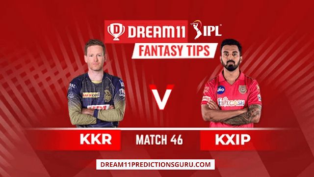 KKR VS KXIP DREAM11 FANTASY TIPS AND PREDICTIONS