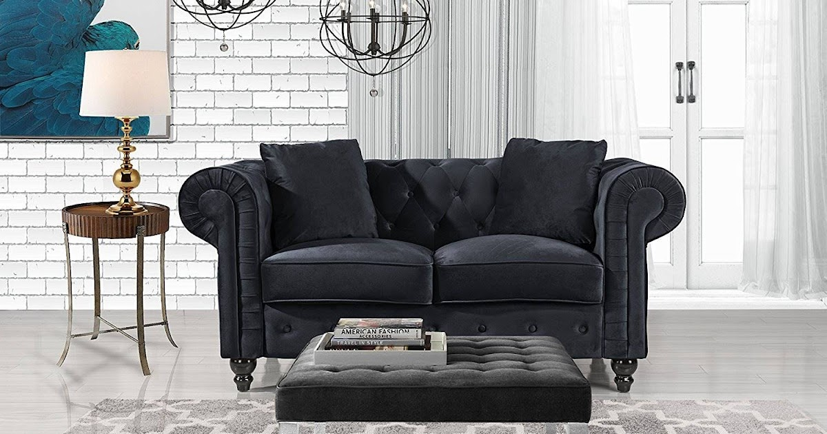 Buy Chesterfield Sofa Online Black Chesterfield Sofa