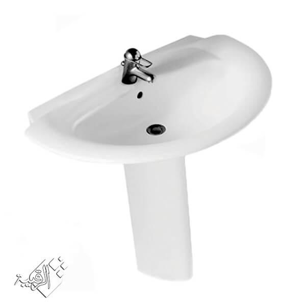طقم حمام ايديال ستاندر أبيض موديل مانتا MANTA