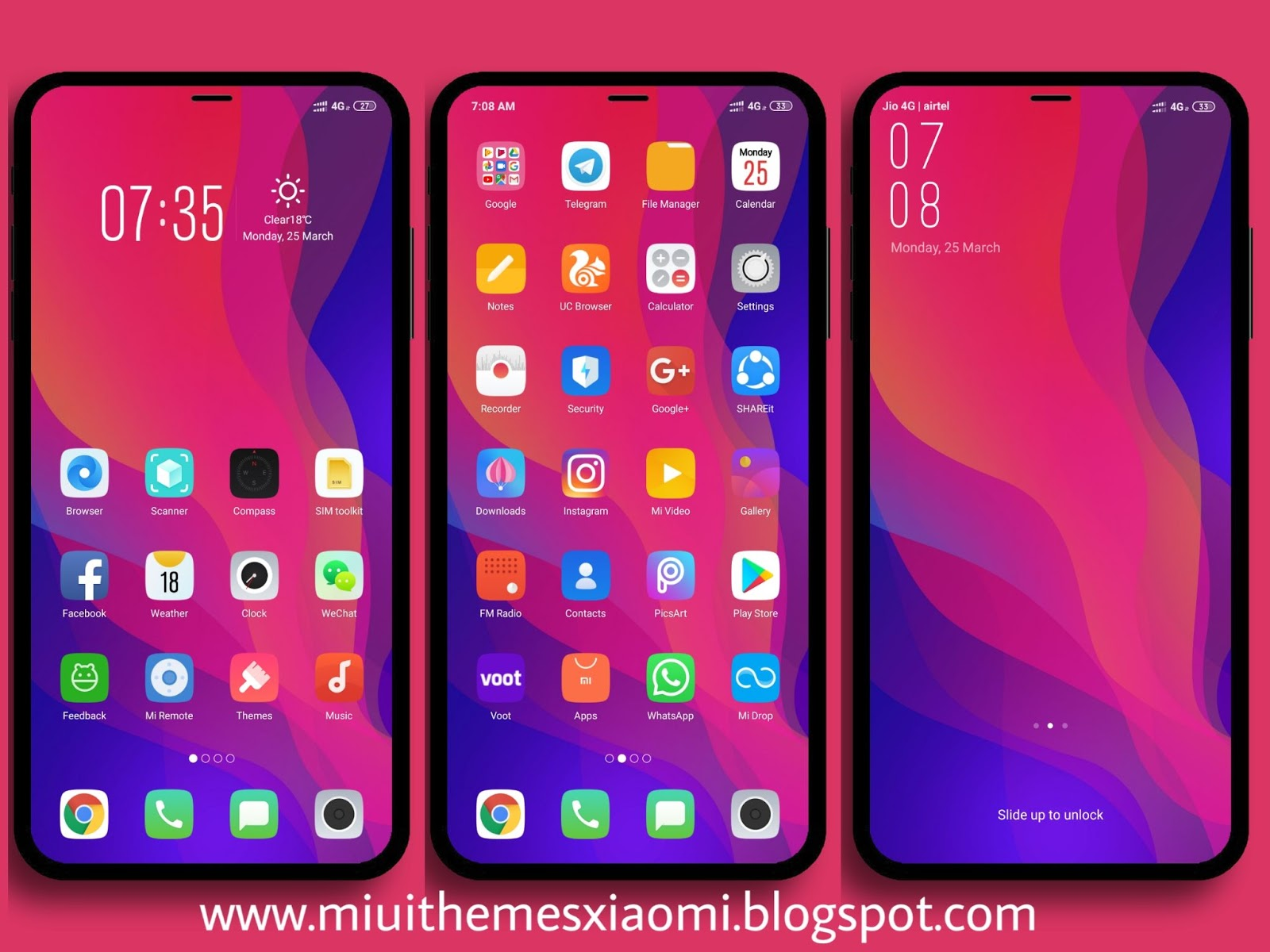 OPPO Find X Pro MIUI Theme Download For Xiaomi Mobile