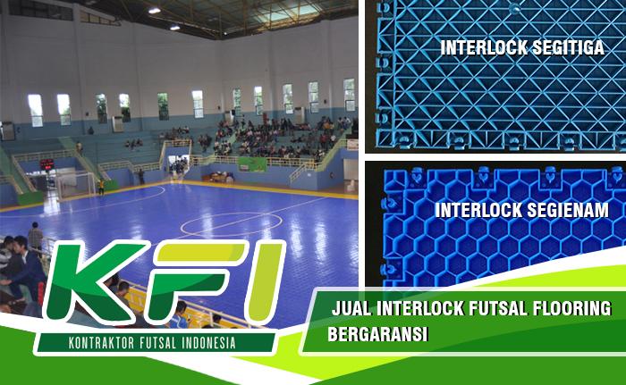 Jual Interlock Futsal Flooring Bergaransi