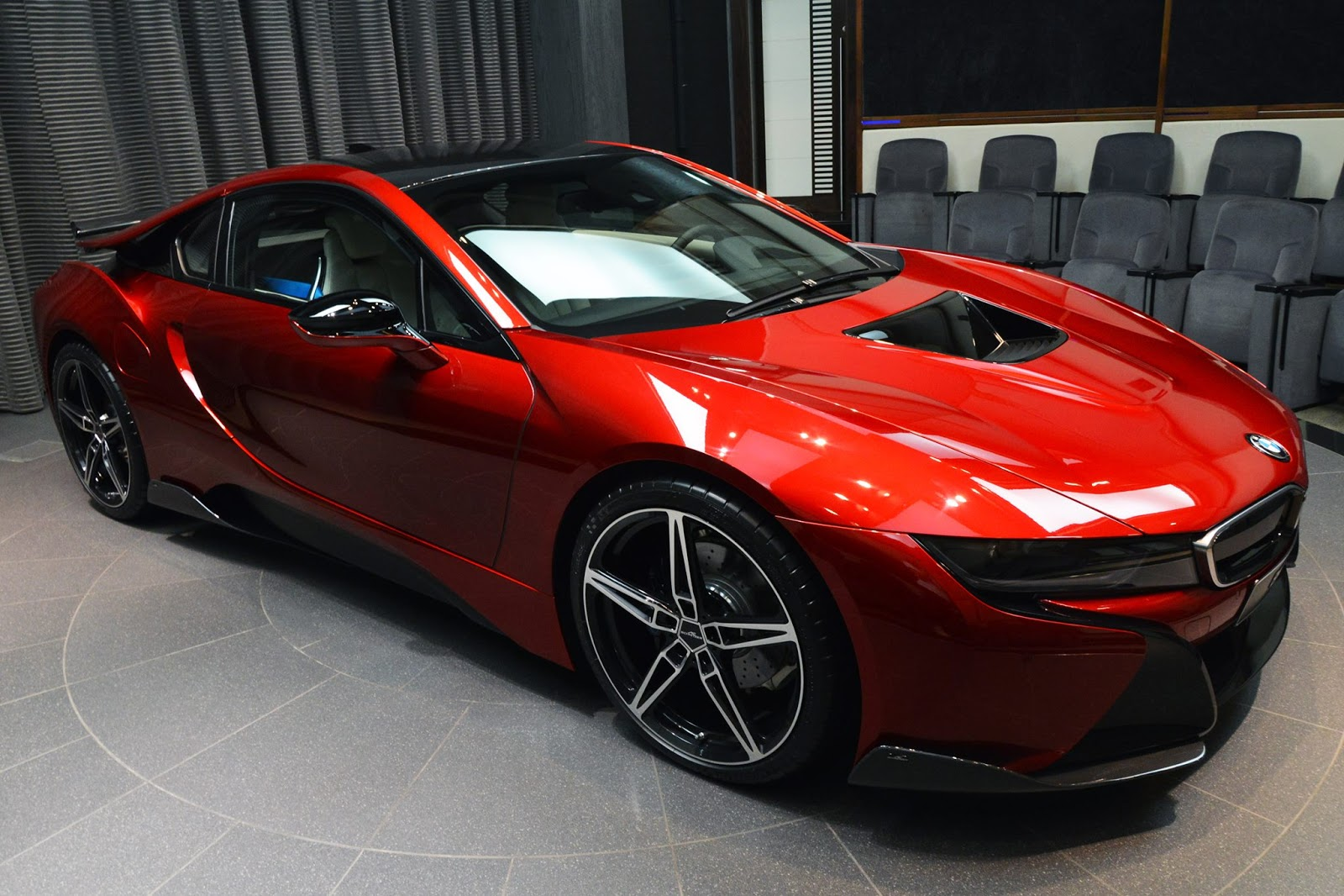 Lava Red Ac Schnitzer Bmw I8 Looks Seriously Impressive
