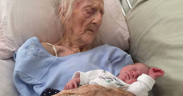 101-Year-Old Woman sets a world record by giving birth as the oldest