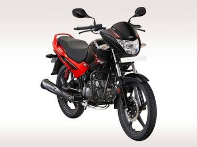 Hero Glamour 125 motorcycle
