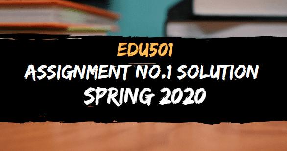 EDU501