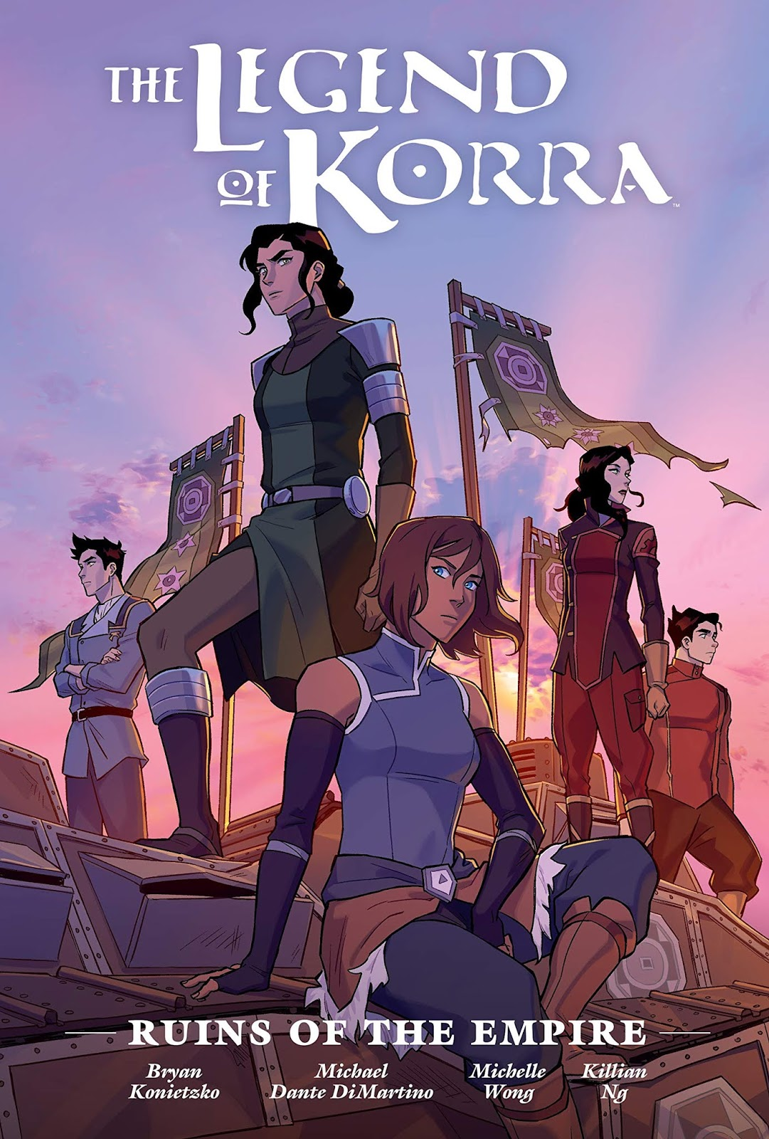 The Legend of Korra: Ruins of the Empire Library Edition by Michael Dante DiMartino, Michelle Wong, Killian Ng