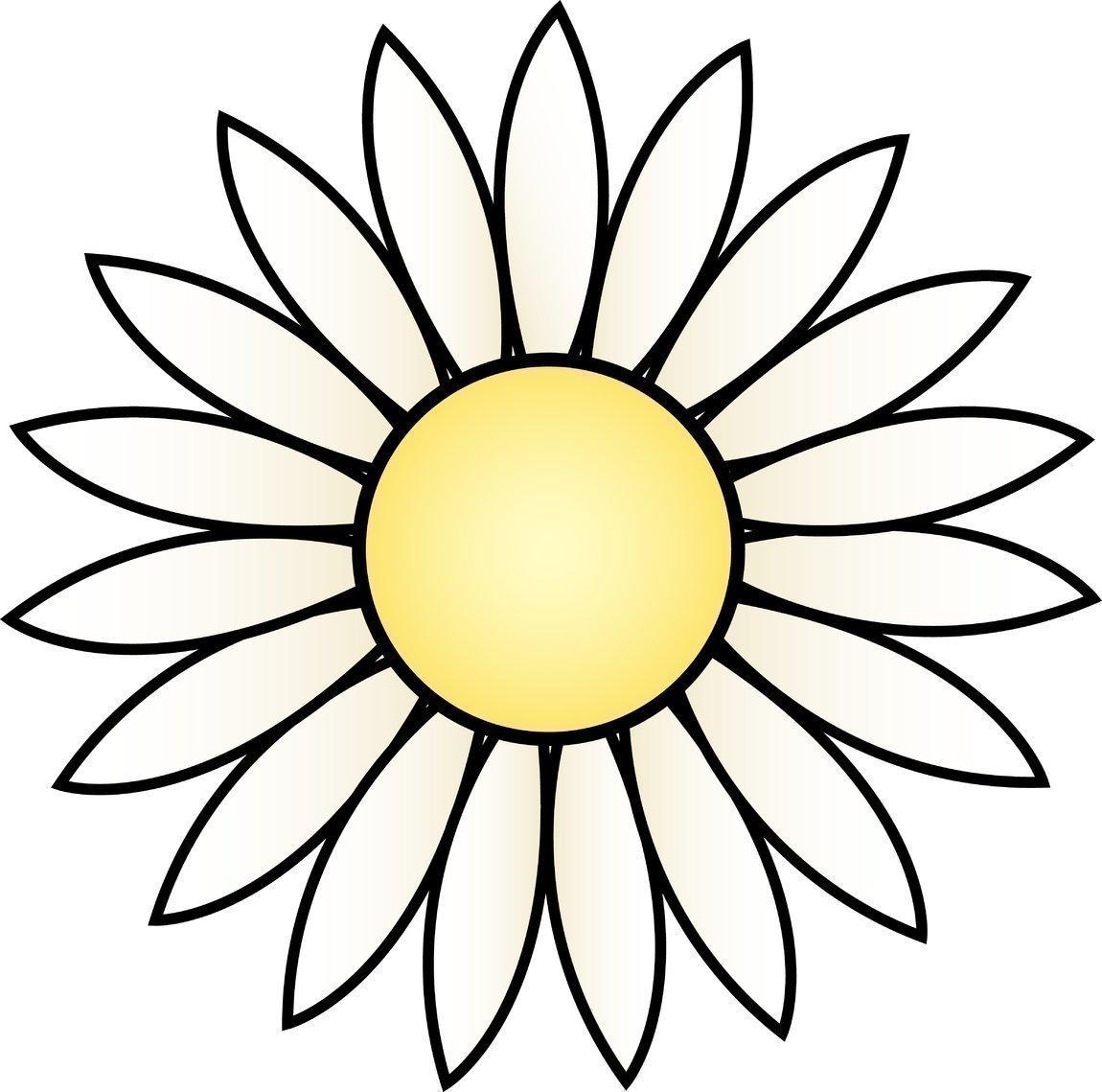 Flores para recortar y colorear de primavera - Jugar y Colorear