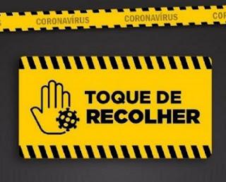 Governo da  prorroga toque de recolher e proibição de das aulas presenciais