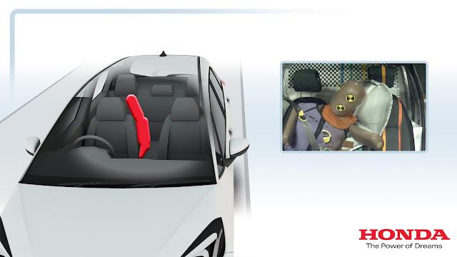 Novo Honda Fit 2021 ganha 3 airbags frontais