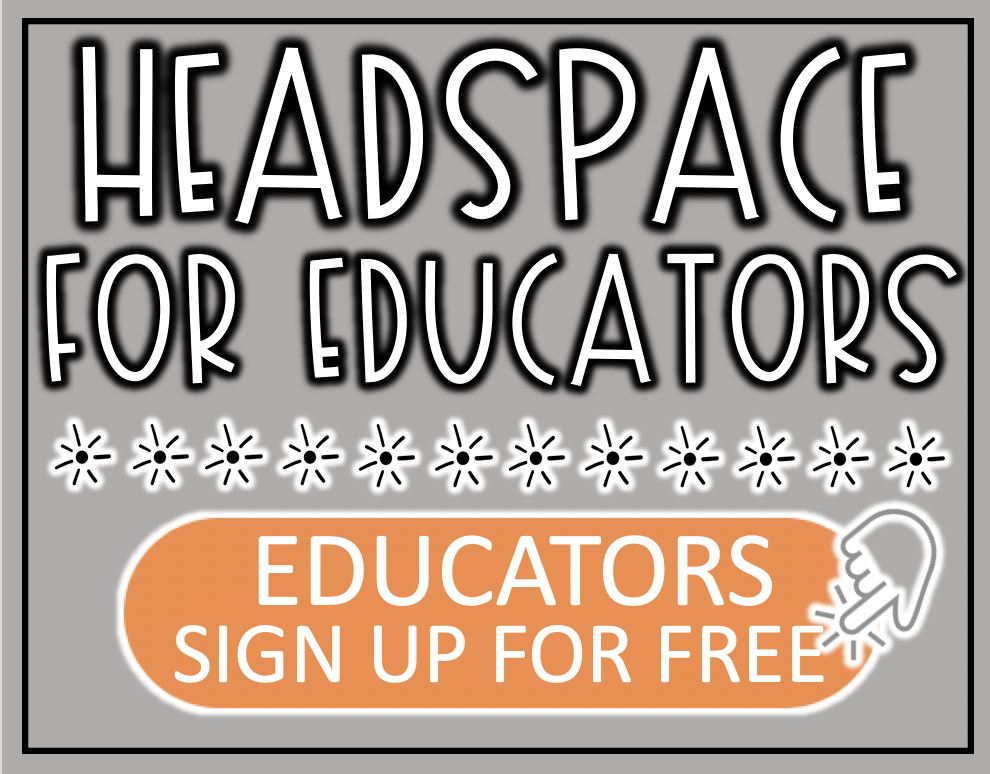 Teachers and other educators can now help increase mindfulness through meditation by signing up for a free Headspace account that can be used at home and in the classroom. This tool can help students too!