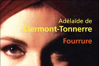 Lundi Librairie : Fourrure - Adélaïde de Clermont-Tonnerre