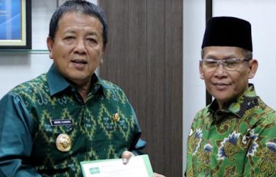 Gubernur Arinal Dukung Lampung Sebagai Tuan Rumah Muktamar NU