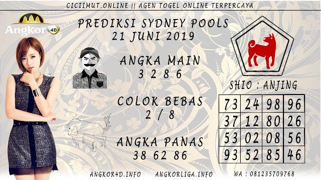 PREDIKSI SYDNEY POOLS 21 JUNI 2019