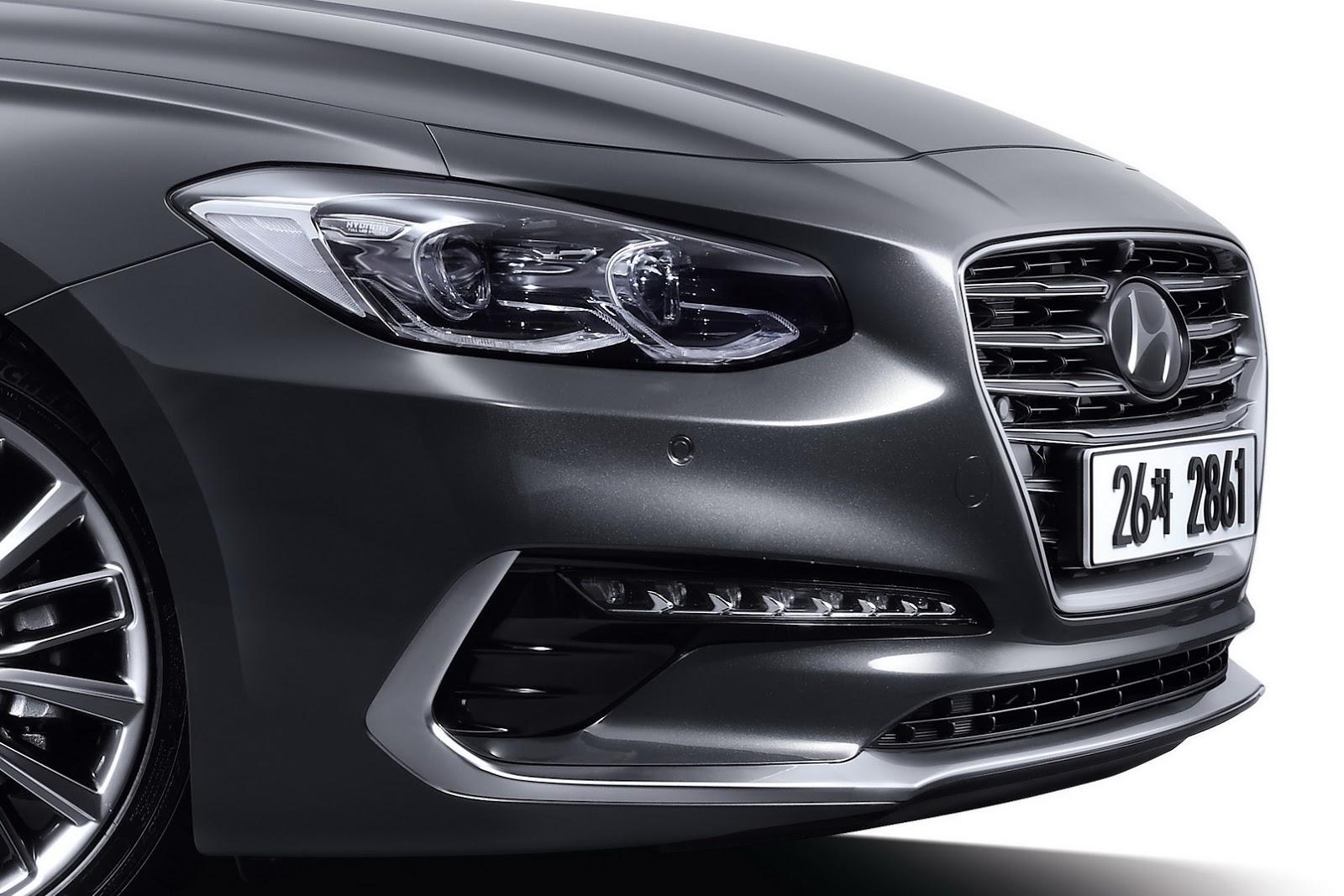 2017 Hyundai Azera Grandeur Revealed In The Flesh What