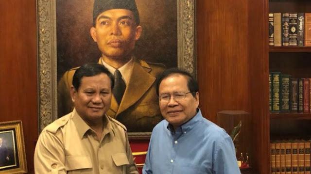 Gerindra Pertimbangkan Duet Prabowo Subianto-Rizal Ramli