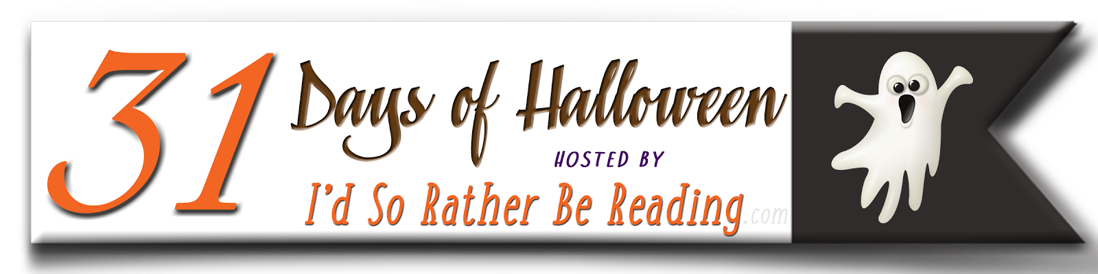 I'd So Rather Be Reading: 31 Days of Halloween!
