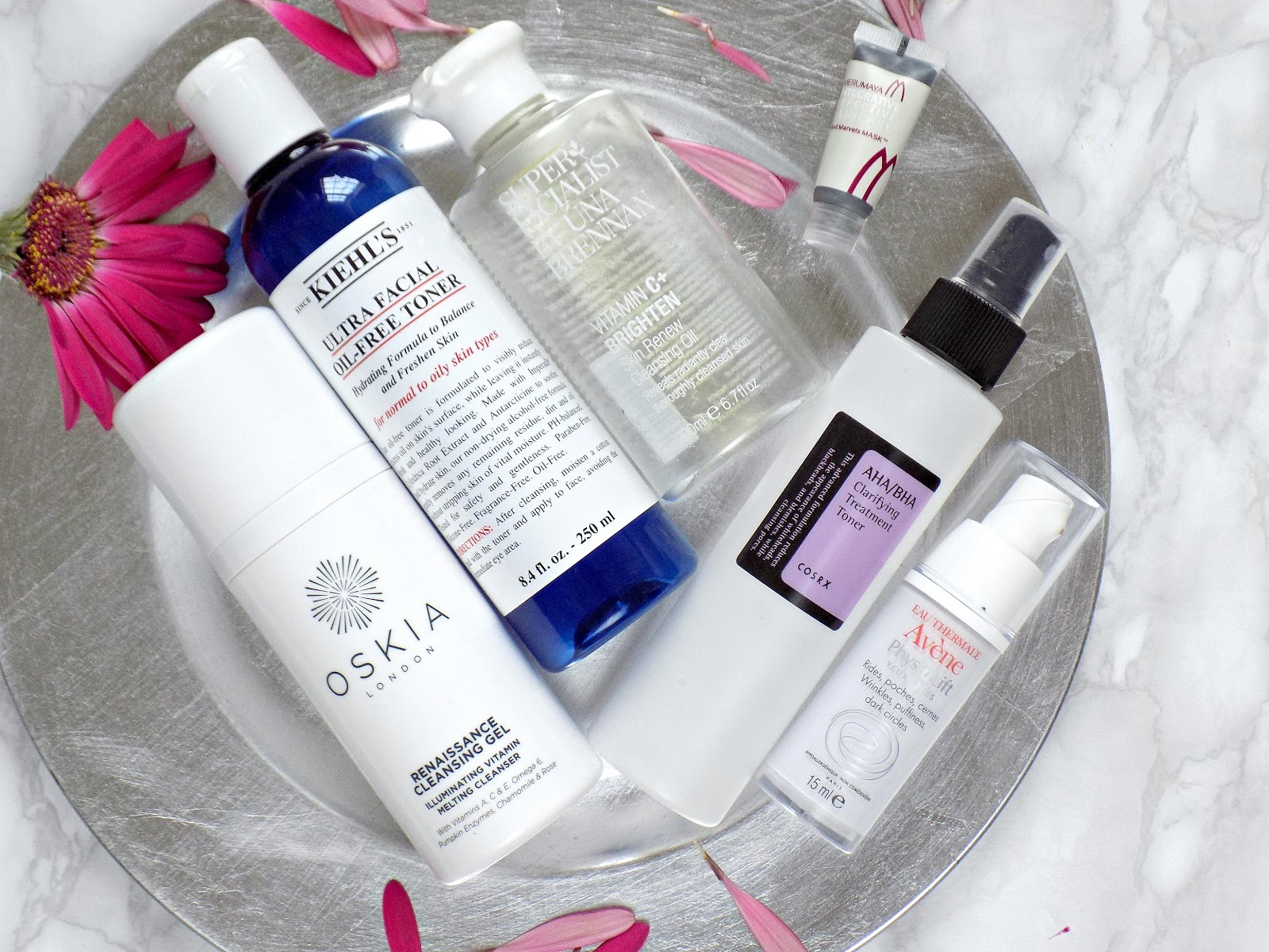 Skincare and body care products I've used up lately