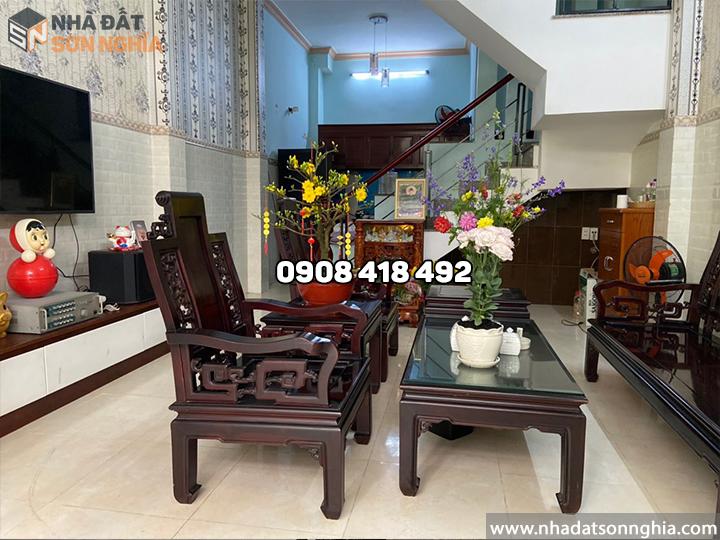 Nhà bán Gò Vấp đường số 3 phường 9 MS076