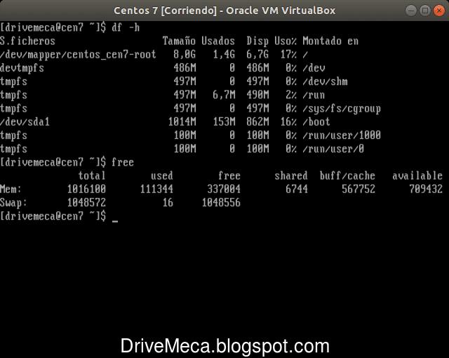 Linux Centos actualizado y listo para usarse