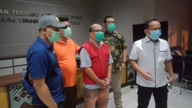 Kejati Sumut Kembali Tangkap Tersangka Korupsi PDAM Tirtanadi Deli Serdang