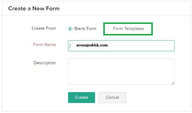 Membuat Absensi Online Dengan Zoho Form