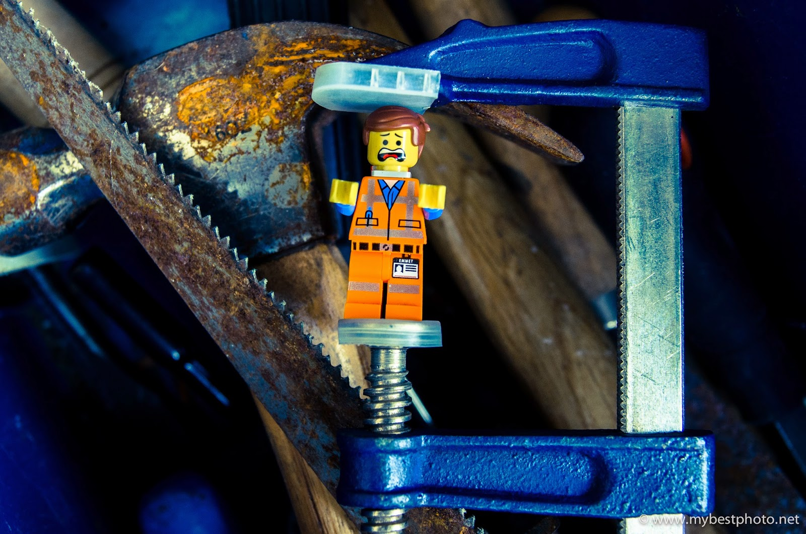 Lego Minifigure Series Lego Movie Emmet - Wallpaper