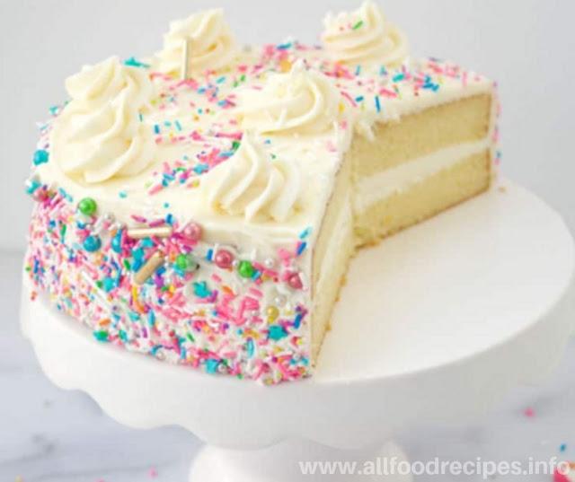 Recipes Super Soft Vanilla Cake