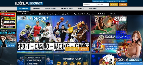 IdolaSbobet.com Agen Bola Sbobet Casino Online Terpercaya