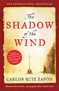 The Shadow of the Wind by Carlos Ruiz Zafon book cover