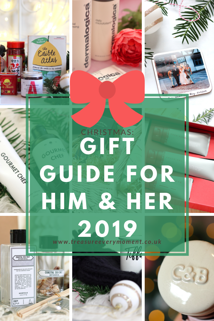 CHRISTMAS: Gift Guide for Him & Her 2019
