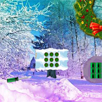Wow Christmas Wreath Forest Escape