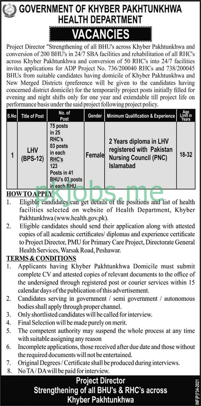 Latest Health Department Posts 2021