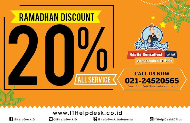 ITHelpDesk.co.id - Promosi Bulan Ramadhan 2016