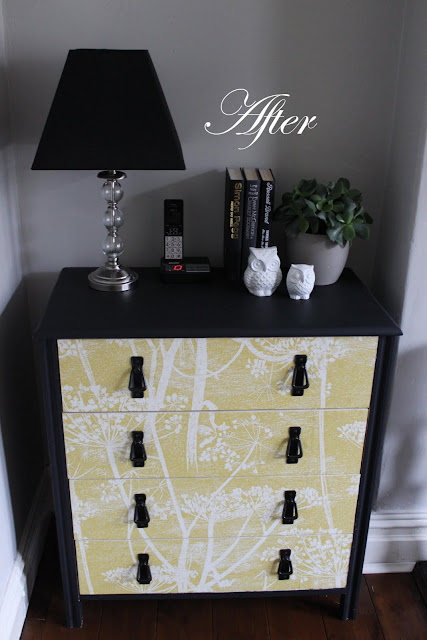 Have you though about using wallpaper on furniture to give it a little refresh? Check out my super simple chest of drawers DIY.