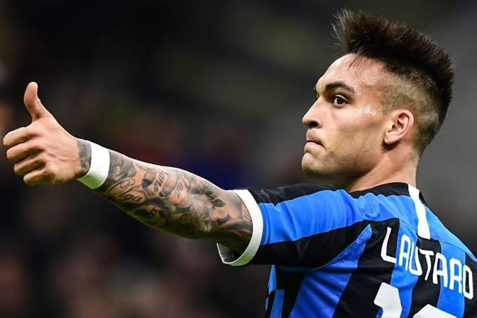 Inter Milan striker Lautaro Martinez happy  ahead of winning his first trophy for the club