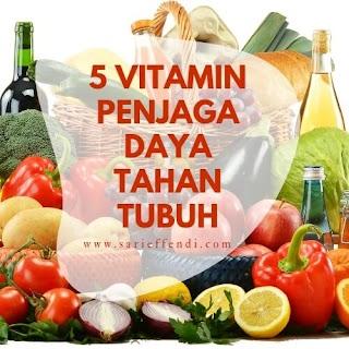 Sama Pentingnya, Berikut 5 Vitamin Untuk Jaga Daya Tahan Tubuh
