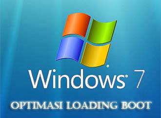 Tip mempercepat waktu loading Booting windows 7