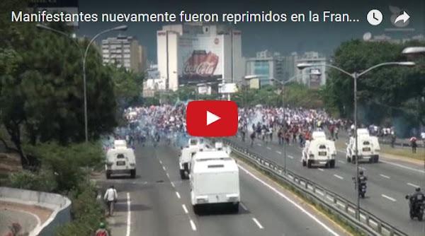 Militantes de VENTE Venezuela llevaron dos cajas CLAP a la Guardia Nacional