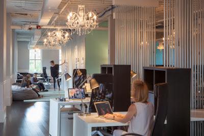 Phối trộn tinh tế các sản phẩm nội thất cho văn phòng hiện đại