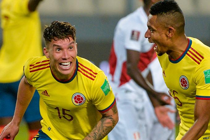 'Baile' de la 'tricolor' en su visita a Lima: Colombia goleó a una frágil Perú y 'revivió' en las Eliminatorias Mundialistas