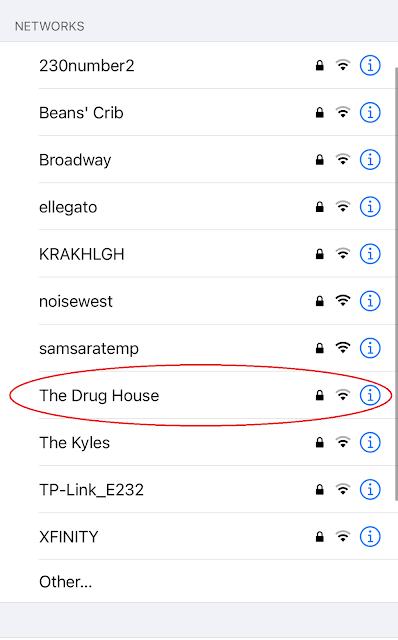 Network Name: The Drug House